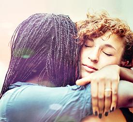 Hugging image