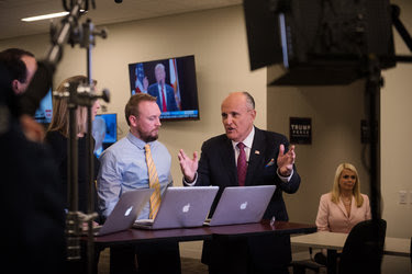Rudolph W. Giuliani, the former mayor of New York City, was a special guest on Trump TV on Tuesday night.