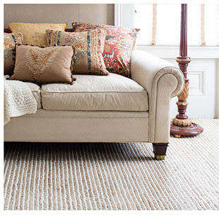 Shop Twiggy Natural Woven Wool Jute Rug