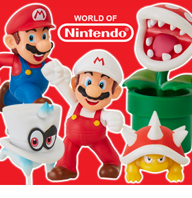 WORLD OF NINTENDO WAVE 19 SET OF 5 FIGURES