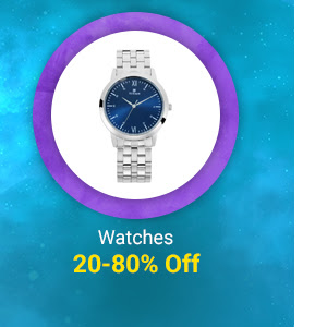 20-80% Off on Watches