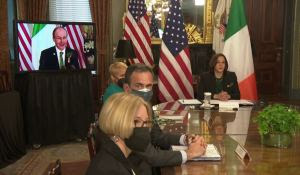Disgraceful Kamala Harris Walks Out of Meeting on Border Security with Mexican President