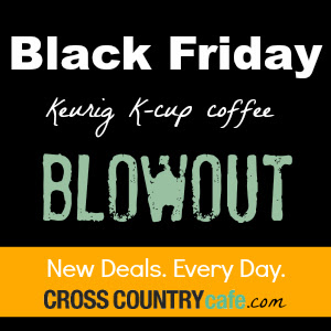 Black Friday month long Keurig K-cup sale