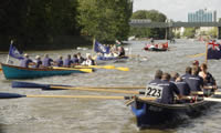 Picture one of the race at Kew.