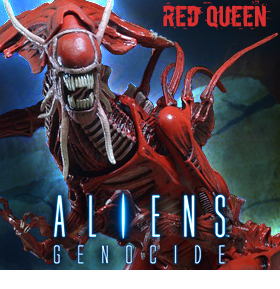 ALIENS ULTRA DELUXE GENOCIDE RED QUEEN
