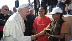 El Papa en su Viaje a Lampedusa