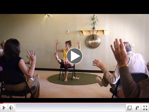 Legs that are as Straight as a Pencil! Chair Yoga sequence with Sherry Zak Morris