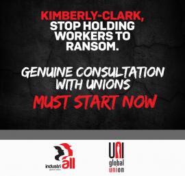 Профсоюзы проводят глобальную акцию протеста против Kimberly-Clark