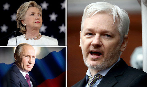 Eat This Hillary! Wikileaks Julian Assange Drops Rare Russian Bombshell on Her Head…