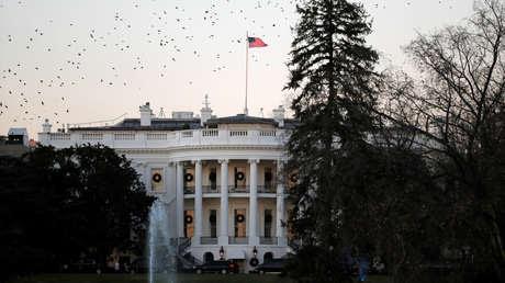 La Casa Blanca en Washington D.C., EE.UU.