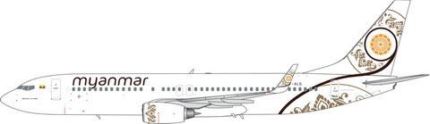 11589 | Phoenix 1:400 | Boeing 737-800 Myanmar XY-ALG | is due:January 2020