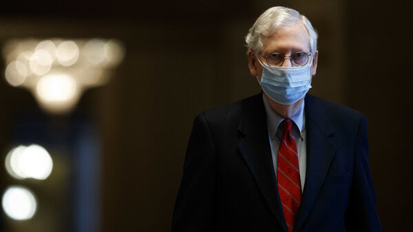 """""""At long last, we have the bipartisan breakthrough the country has needed,"""" Senate Majority Leader Mitch McConnell, R-Ky., said on the Senate floor Sunday evening."""