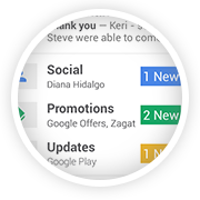 Google Plus Email Update