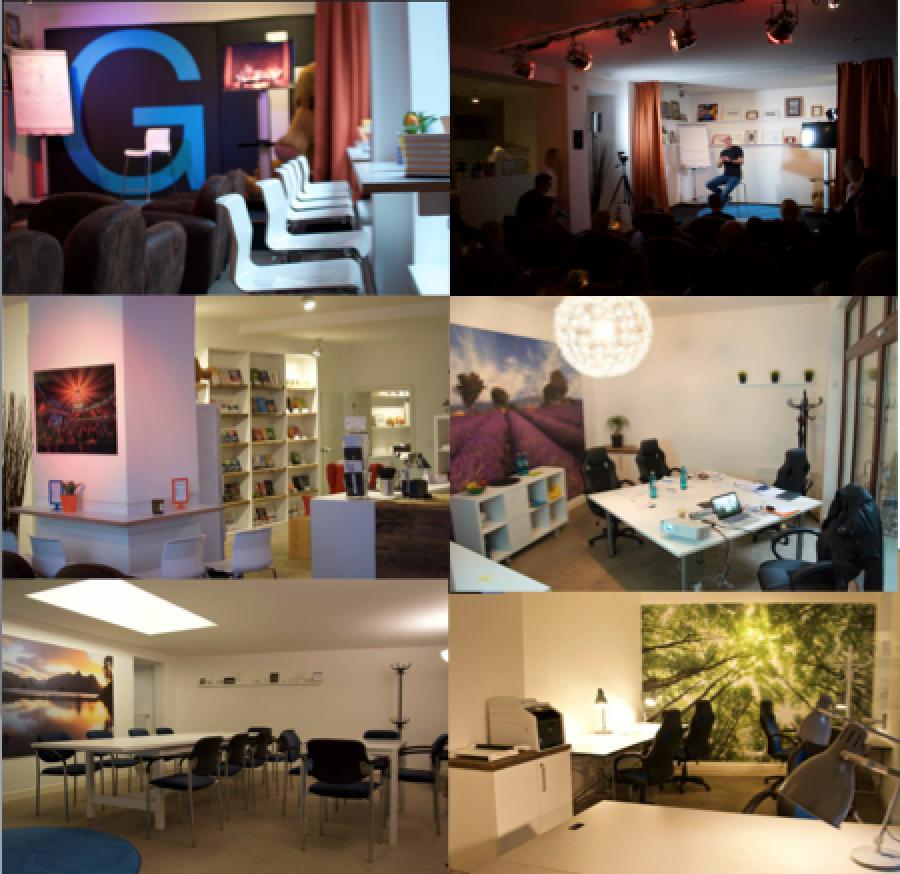 GEDANKENtanken Lounge Fotos
