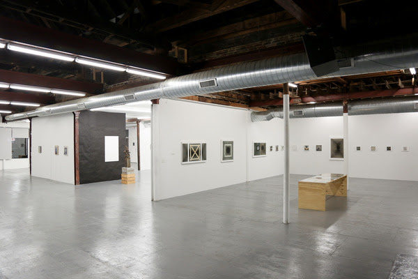off modern installation view