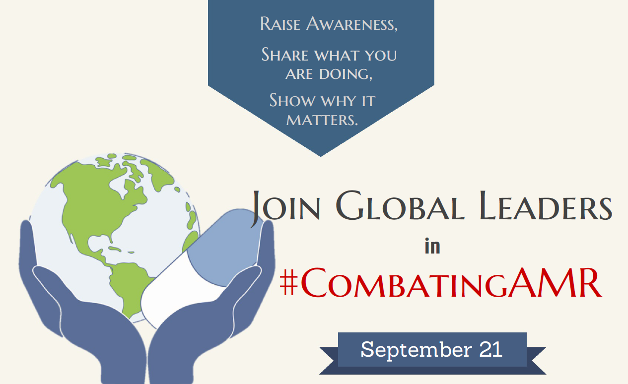 Join global leaders in #combatingAMR