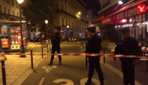 "Video from Paris: Muslim screaming ""Allahu akbar"" murders at least  one, injures four in stabbing spree"