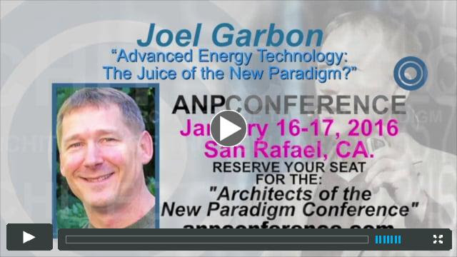 Joel Garbon - ANP Conference Jan_16-17_2016