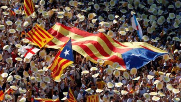 Συλλαλητήριο στην Καταλονία υπέρ της ανεξαρτησίας από την Ισπανία