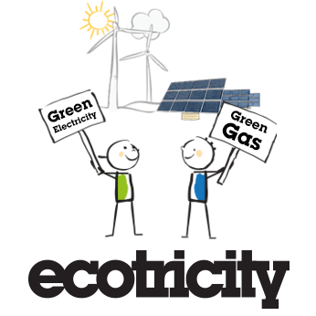 Green electricity. Gree gas. Ecotricity.