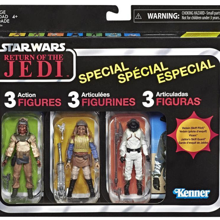 Image of Star Wars: The Vintage Collection Skiff Guard Three Pack