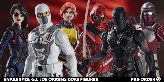 Snake Eyes: G.I. Joe Origins Core