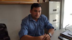 Marlon Calles, regidor por la Alianza-PINU de la Municipal de Marcala