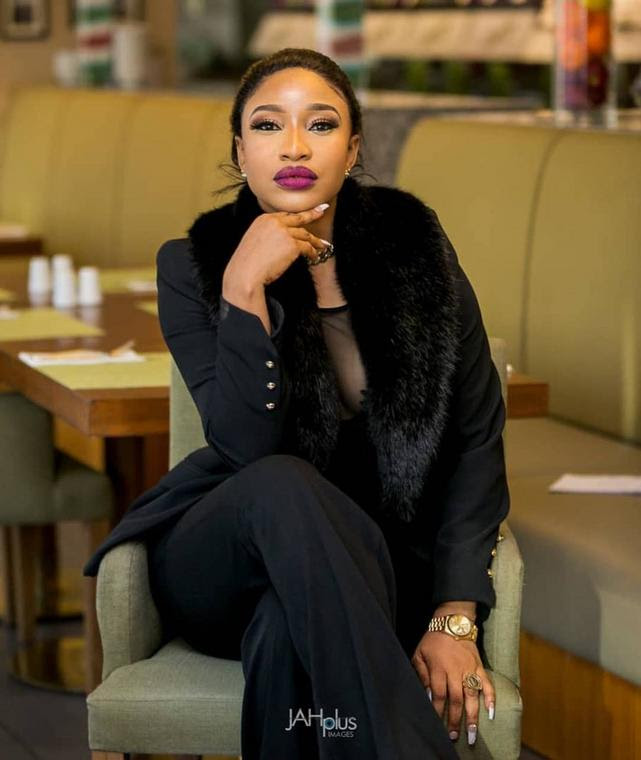 A few days ago, Tonto Dikeh took to her Instagram page where she dragged her former husband and his mother [Instagram/TontoDikeh]