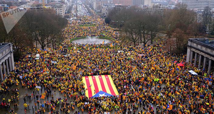 Estelada, bandera independentista de Cataluña (imagen referencial)
