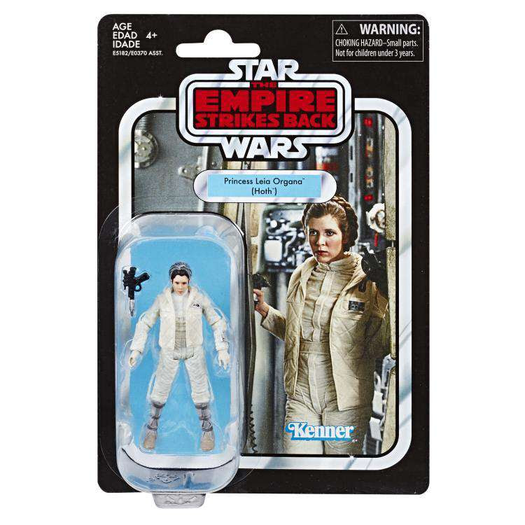 Image of Star Wars The Vintage Collection Action Figures Wave 5 - Princess Leia Organa (Hoth)