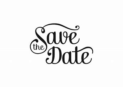 Image result for Black & White Save the Date