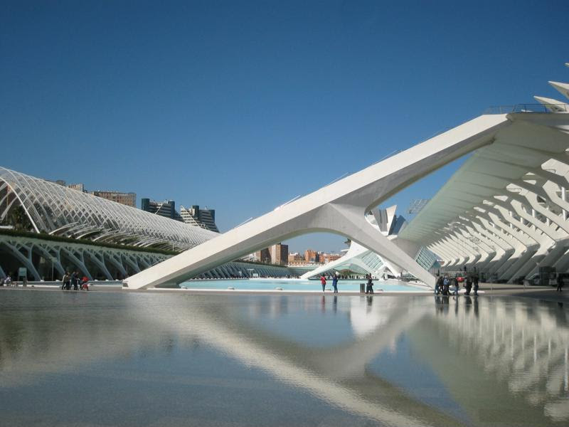 Valencia, Spain has beautiful, modern sites to explore.