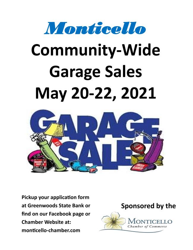 Community Wide Garage Sales