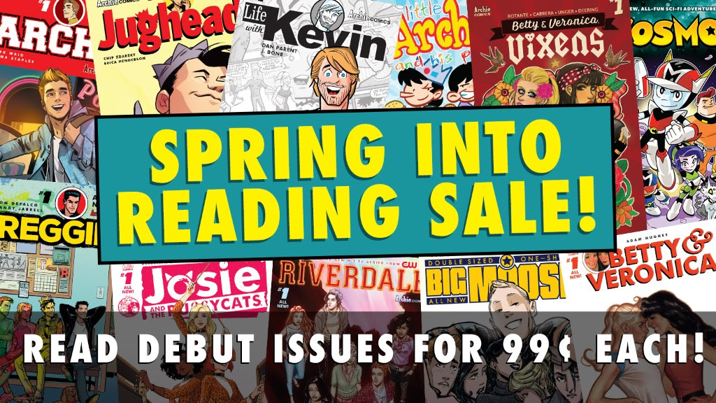 Spring Into Reading Sale!