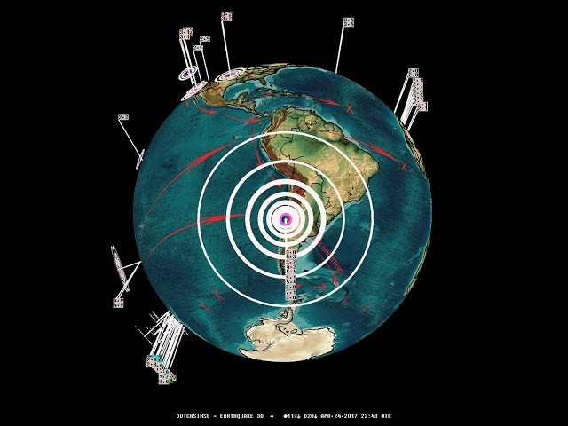 4/24/2017 -- M7.1 (M6.7) strikes South America / Chile -- Large shake reports coming in  Sddefault