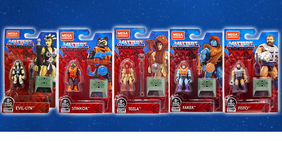 Masters of the Universe Mega Construx Heroes Wave 2