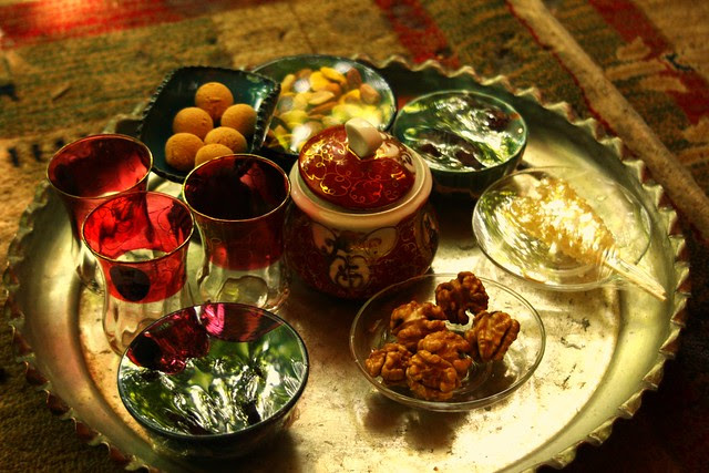 Accompaniments for tea from Flickr via Wylio
