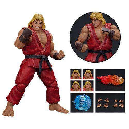 Image of Ultra Street Fighter II: The Final Challengers Ken 1:12 Scale Action Figure