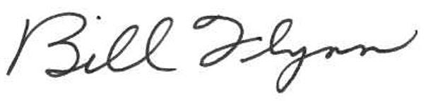 Bill Flynn Signature