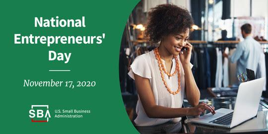 National Entrepreneurs' Day, November 17, 2020