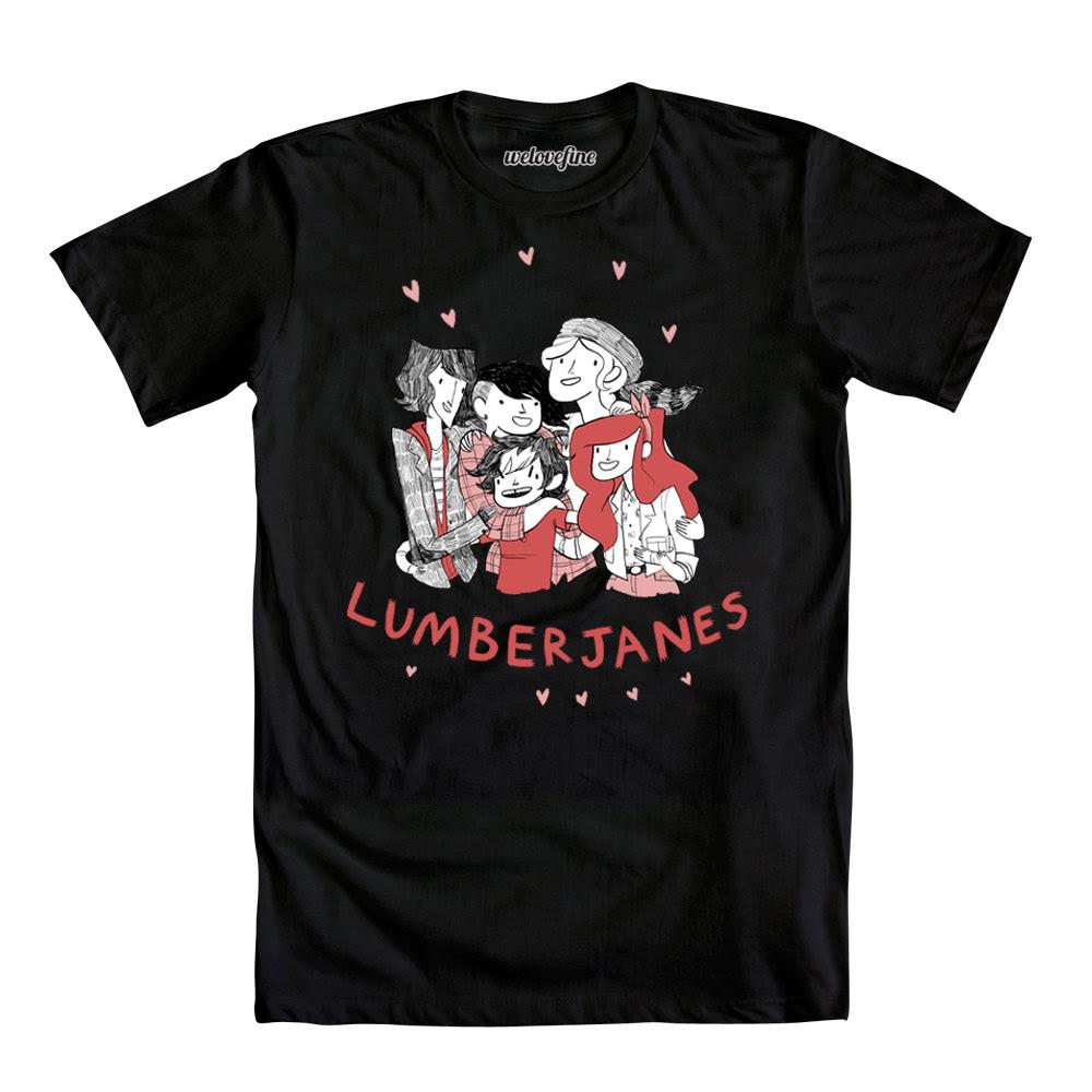 Lumberjanes Group Shot T-Shirt