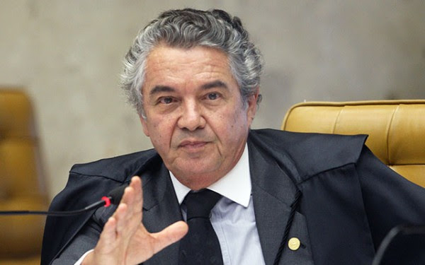 juiz do STF Marco Aurélio Mello