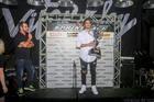 Rosate com o troféu de vice campeão da Sprint Race 2017 (Luciano Santos/Sigcom)