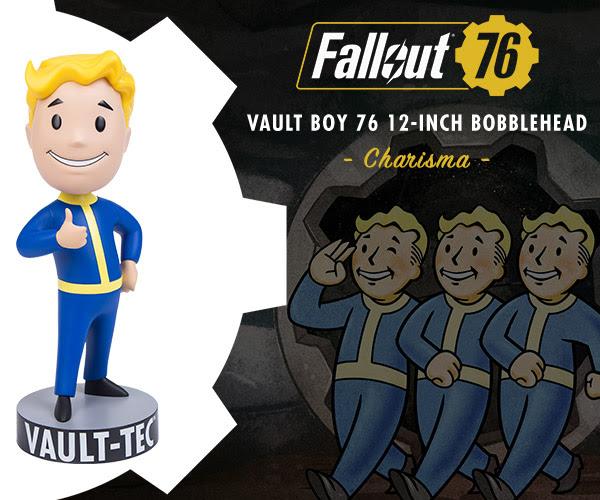Fallout® 76: Vault Boy 76 Charisma 12-Inch Bobblehead