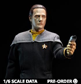 Star Trek: First Contact Lieutenant Commander Data 1/6 Scale Figure