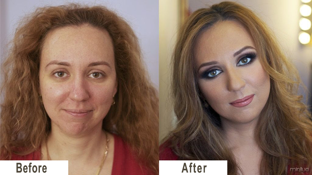 Image result for free picture of make up before and after