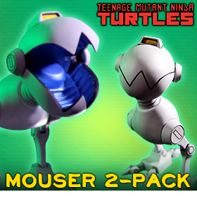 MONDO TMNT MOUSER TWO PACK