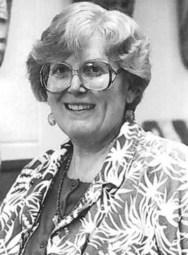 picture of former professor T. Virginia Cox