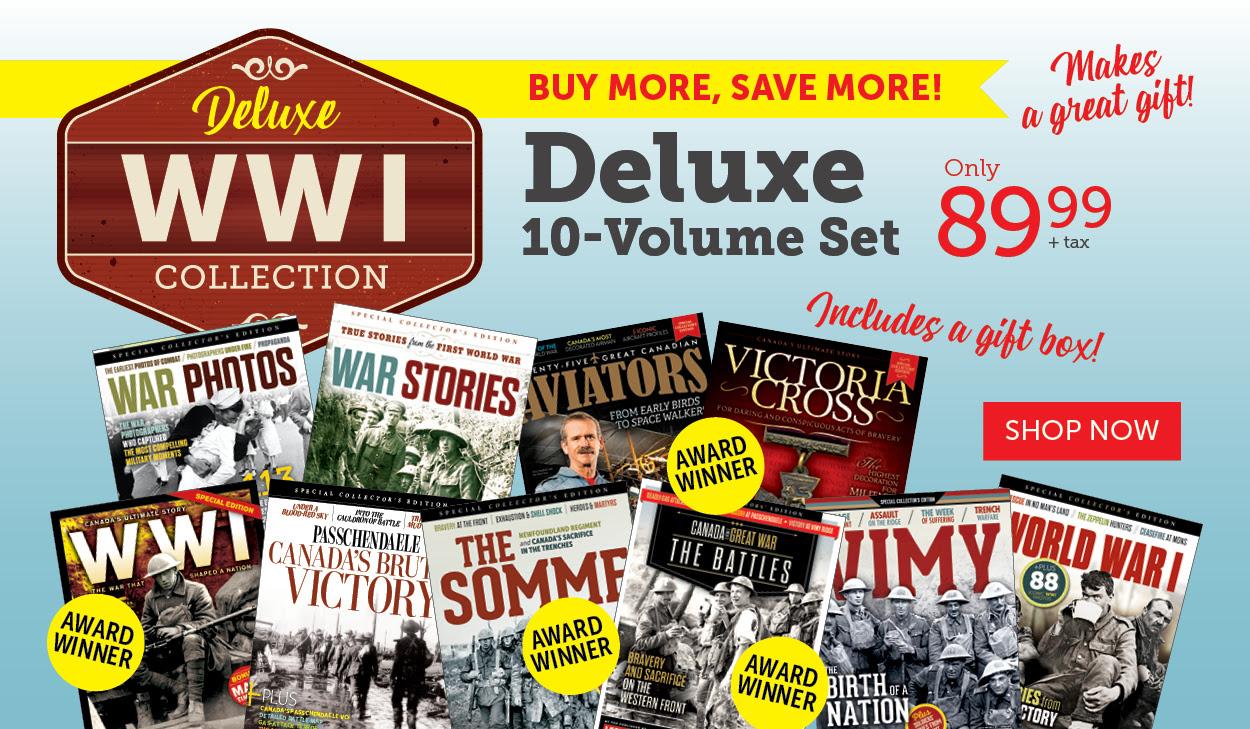 WW I Deluxe 10 Volume Set