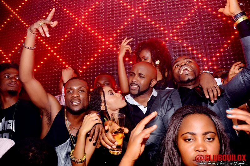 Banky W and a guest  2